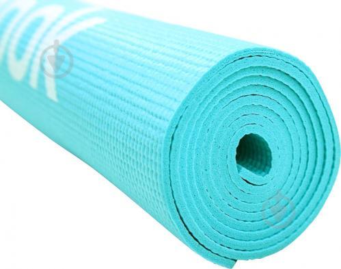 Мат гимнастический Reebok 173x53xLove Fitness RAMT-11024BLL голубой - фото 3