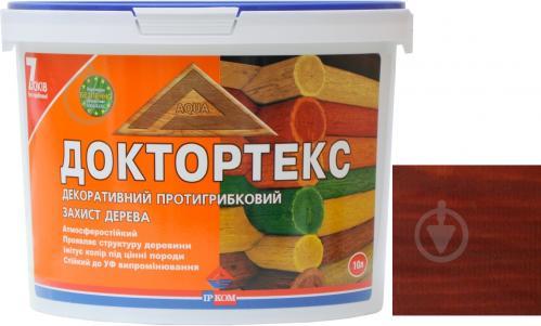 Лазурь ІРКОМ Доктортекс ИР-013 орех шелковистый мат 10 л - фото 1