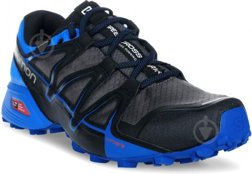 Кроссовки Salomon SPEEDCROSS VARIO 2 GTX M L39971500 р. 10 сине-серый