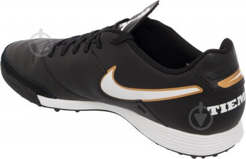 Футбольні бутси Nike Tiempo Genio II Leather TF 819196-638 р. 11 чорний із білим - фото 4