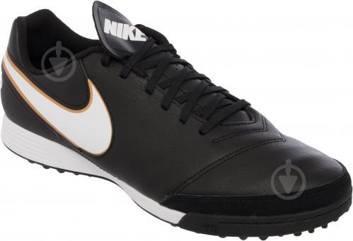 Футбольні бутси Nike Tiempo Genio II Leather TF 819196-638 р. 11 чорний із білим - фото 3