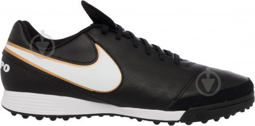 Футбольні бутси Nike Tiempo Genio II Leather TF 819196-638 р. 11 чорний із білим - фото 5