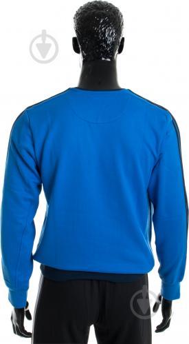 Свитшот Adidas AY5472 р. M синий - фото 3