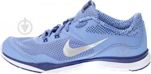 Кроссовки Nike FLEX TRAINER 5 р. 6 голубой 749184-405-6 - фото 6