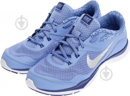 Кроссовки Nike FLEX TRAINER 5 р. 6 голубой 749184-405-6 - фото 2