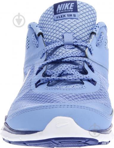 Кроссовки Nike FLEX TRAINER 5 р. 6 голубой 749184-405-6 - фото 7