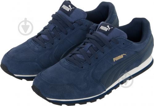 Кроссовки Puma ST Runner SD 35912804 р.6.5 темно-синий - фото 2