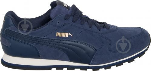 Кроссовки Puma ST Runner SD 35912804 р. 6.5 темно-синий - фото 5
