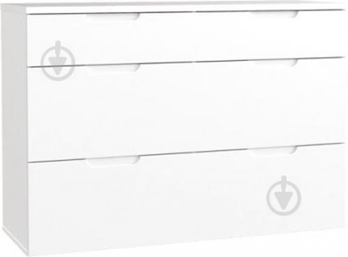 Комод Forte Meble STARLET WHITE STWK211 3S белый/белый глянец - фото 1