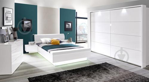 Комплект для спальні Forte Meble Starlet White STWL163 V29 160x200 см білий - фото 2