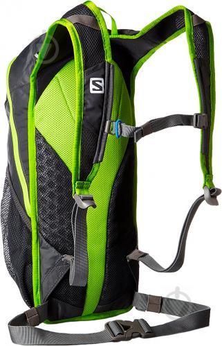 Рюкзак Salomon Trail 20 л серый с зеленым L37998300 - фото 3
