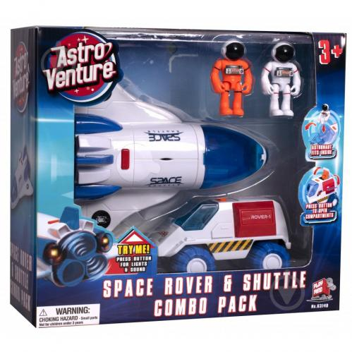Игровой набор Astro Venture SPACE ROVER и SHUTTLE 63140 - фото 1