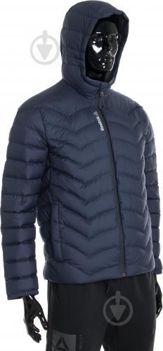 Куртка Reebok с капюшоном р. L синий AX8998 - фото 4