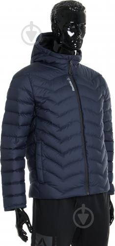 Куртка Reebok с капюшоном р. L синий AX8998 - фото 2