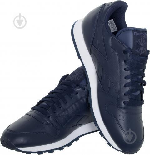ᐉ Кроссовки Reebok Classic Leather Premium AR1537 р.8.5 синий ... 8bc1664badf17