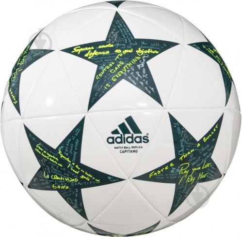 ᐉ Футбольний м яч Adidas Finale Capitano р. 5 AP0375 • Краща ціна в ... 7383c75438f2c