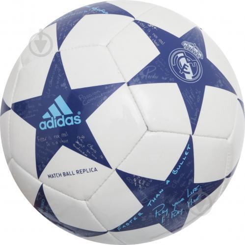 ᐉ Футбольний м яч Adidas AW1617 р. 1 сувенірний AP0391 • Краща ціна ... 2192c8aee070e