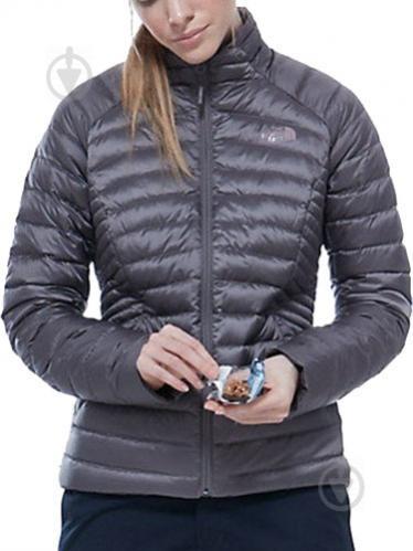 Куртка THE NORTH FACE W Tonnerro Fz Jacket р. L серый T92UAMHCW - фото 4