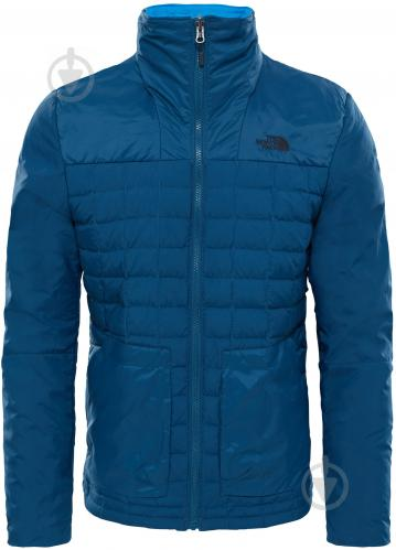 Куртка THE NORTH FACE M Thrmbll Fz Zip-In р. M темно-синий T933IGBH7 - фото 3