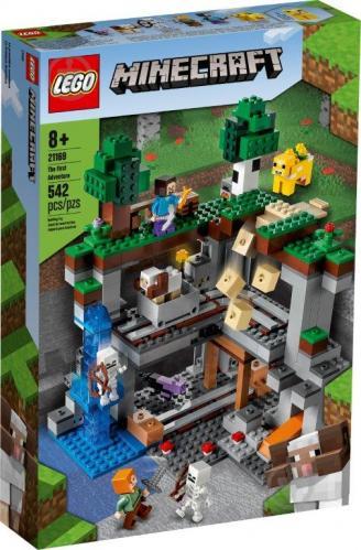 Конструктор LEGO Minecraft Первое приключение 21169 - фото 1
