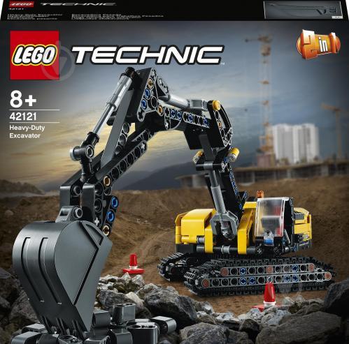 Конструктор LEGO Technic Сверхмощный экскаватор 42121 - фото 1
