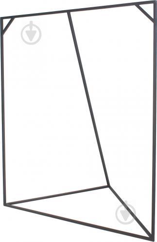 Вешалка для одежды Метал Арт 80368016 Гео черный - фото 1