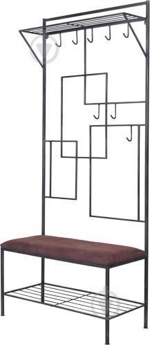 Вешалка для одежды Метал Арт 80368172 Мадрид черный - фото 1