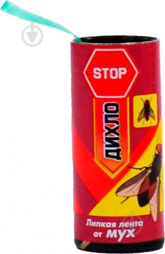 Клейка стрічка від мух «ДИХЛО STOP»