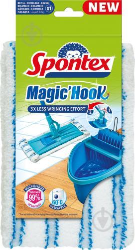 Змінна насадка до швабри SPONTEX Spontex Magic Hook 41 см - фото 1