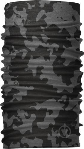 Бандана-трансформер (Бафф) Серый с черным (BT001/5) - фото 1