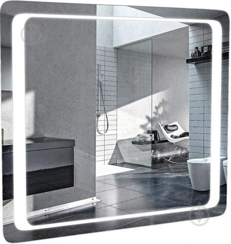 Зеркало Aqua Rodos Омега 80х70 см - фото 1
