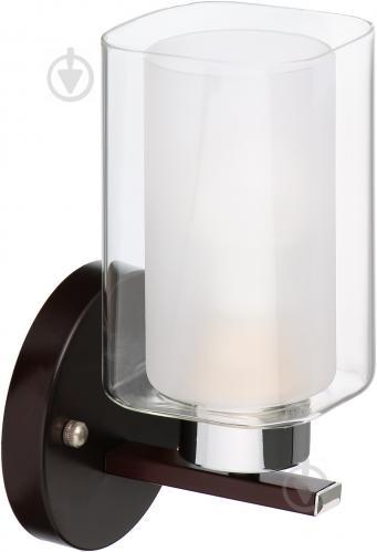 Бра Victoria Lighting 1x60 Вт E27 венге Eliseo/AP1 - фото 1