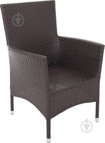 Кресло INDIGO HYC-1705 BROWN коричневый коричневый - фото 1