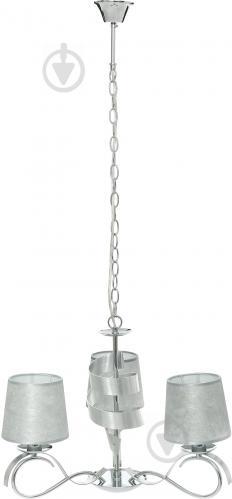 Люстра підвісна Victoria Lighting 3x40 Вт E14 хром/срібло Rosalia/SP3 - фото 2