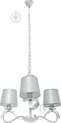 Люстра підвісна Victoria Lighting 3x40 Вт E14 хром/срібло Rosalia/SP3