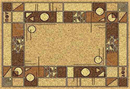 Ковер Карат Gold 091/12 0,6x1,1 м - фото 1
