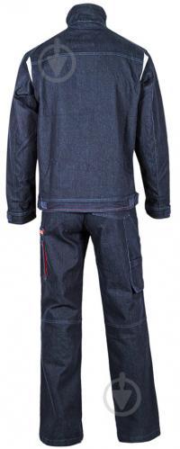 Куртка рабочая Sizam Manchester джинсовая р. S рост универсальный 30042 темно-синий - фото 6