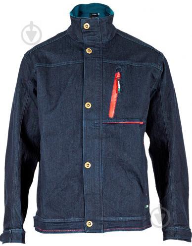 Куртка рабочая Sizam Manchester джинсовая р. S рост универсальный 30042 темно-синий - фото 1