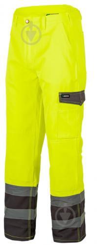 Штаны сигнальные Sizam Sunderland р. S рост универсальный 30096 желтый - фото 1