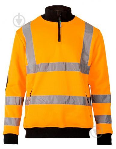 Толстовка Sizam Brighton сигнальная р. S рост универсальный 30222 оранжевый - фото 1