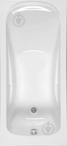 Ванна акриловая Allibert Atina B 170x75 с ножками - фото 1