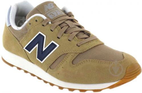 Кроссовки New Balance ML373OTO р.10 светло-коричневый - фото 4