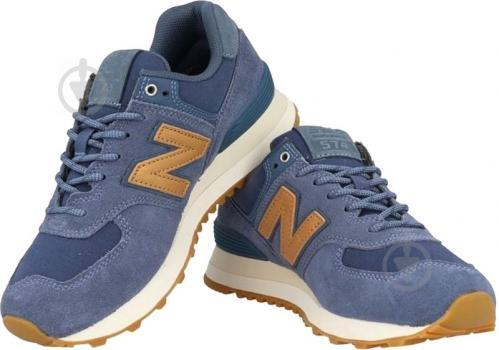 Кроссовки New Balance 574 NOP WL574CLI р.8 синий