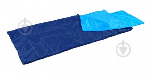Спальний мішок Авокадо великий 190х85 (синій + блакитний) - фото 1