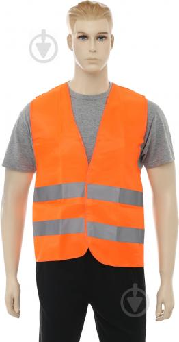 Жилет сигнальний Lavita XL помаранчевий