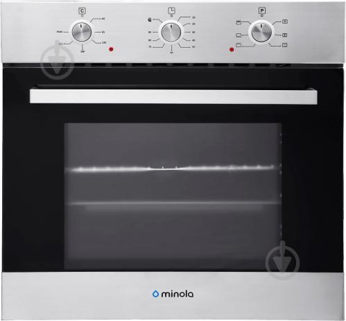 Духовой шкаф Minola OE 66231 BL/INOX - фото 1