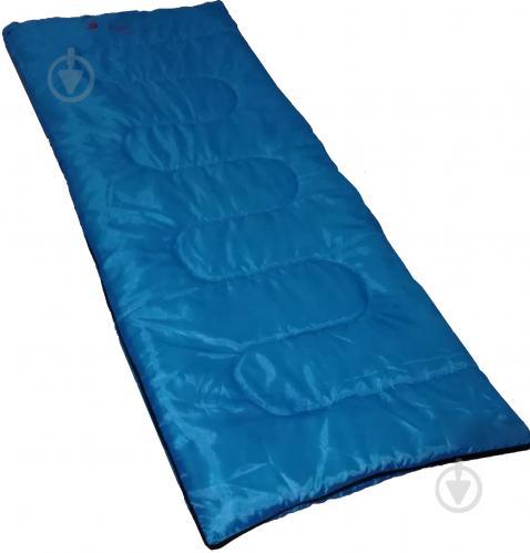 Спальний мішок Time Eco Camping-190 синій - фото 1
