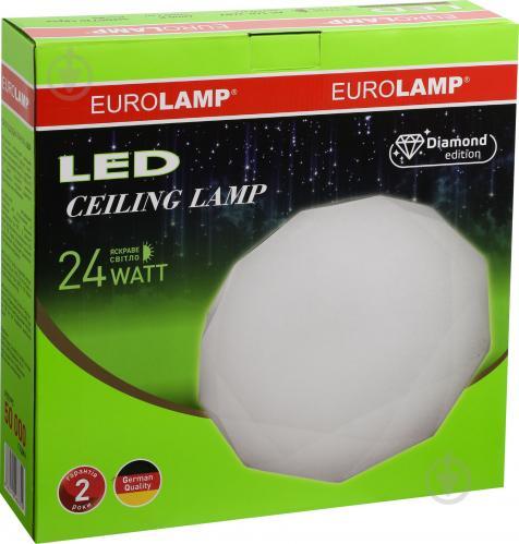 Світильник світлодіодний Eurolamp білий матовий - фото 3