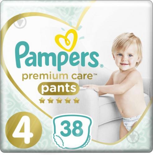 Підгузки-трусики Pampers Premium Care Pants Maxi 4 (9-15 кг) 38 шт.
