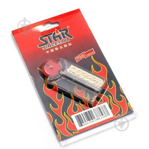 Набор STAR кремни и фитиль для зажигалок (DN23653) - фото 1